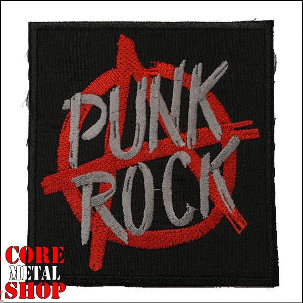 Нашивка Punk Rock (anarchy)
