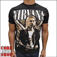 Футболка Nirvana - Live At Seattle