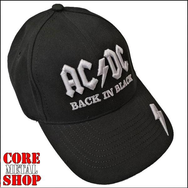 Бейсболка AC DC - Back In Black