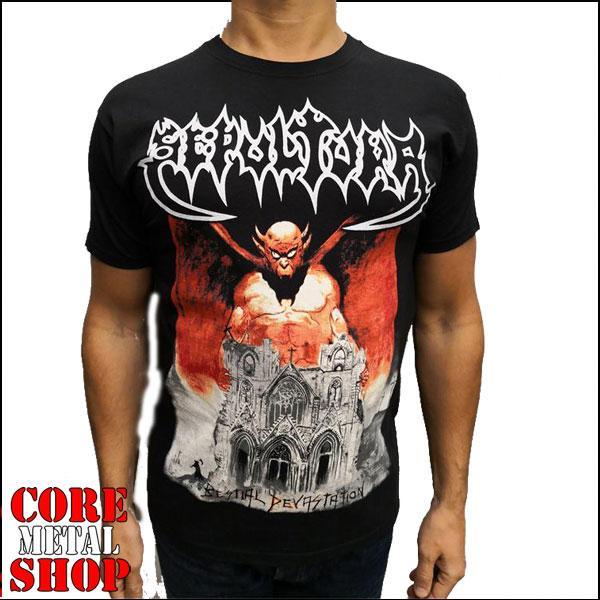 Футболка Sepultura - Bestial Devastation