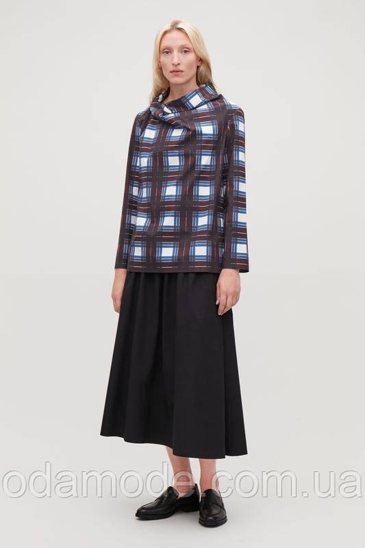 Женская блуза летняя  в клетку COS