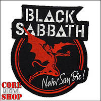 Нашивка Black Sabbath - Never Say Die