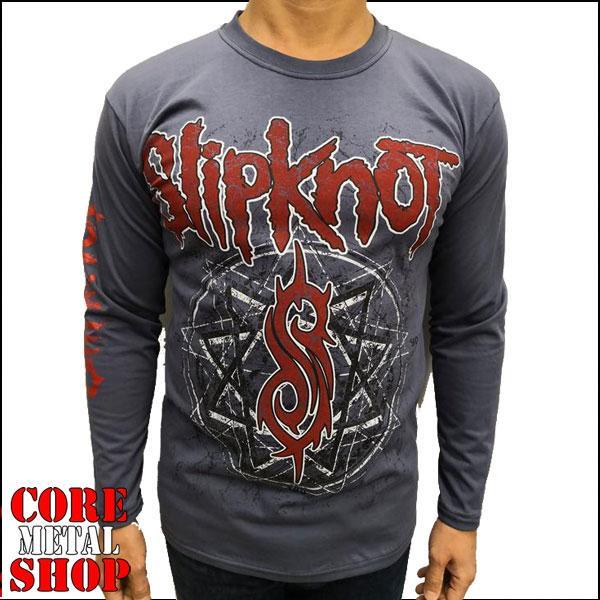 Лонгслив Slipknot (серая)