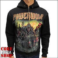 Толстовка Powerwolf - The Metal Mass на молнии, фото 1