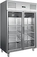 Холодильный шкаф Berg GN1410TNG со стеклянными дверями