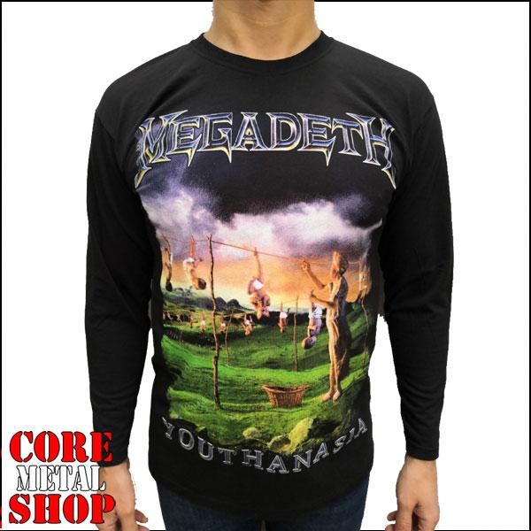 Лонгслив Megadeth - Youthanasia