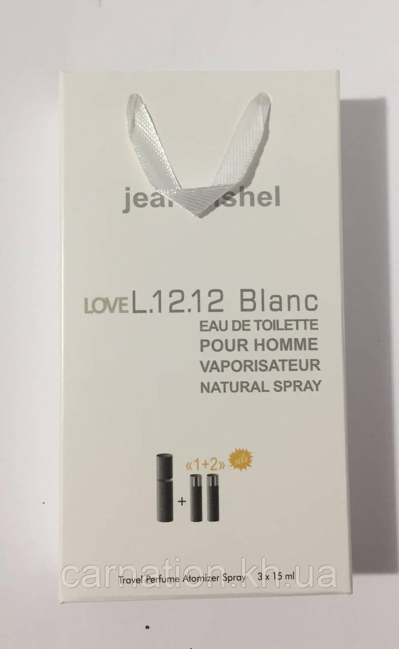 Подарочный набор  LoveL.12.12 Blanc Jeanmishel 3*15 мл