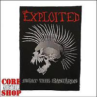 Нашивка Exploited - Beat The Bastards (на всю спину)