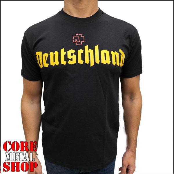 Футболка Rammstein - Deutschland (черная)
