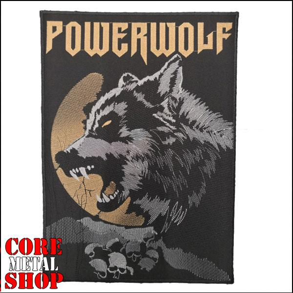 Нашивка вышитая Powerwolf на спину