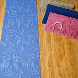Коврик Для Йоги и Фитнеса Армированные, Для Пилатеса, Гимнастики и Танцев. ЙогаМат с Рисунком 4 мм, фото 5