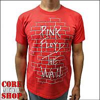 Футболка Pink Floyd - The Wall (красная), фото 1