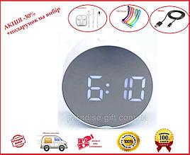 Зеркальные электронные часы UKC DT-6505