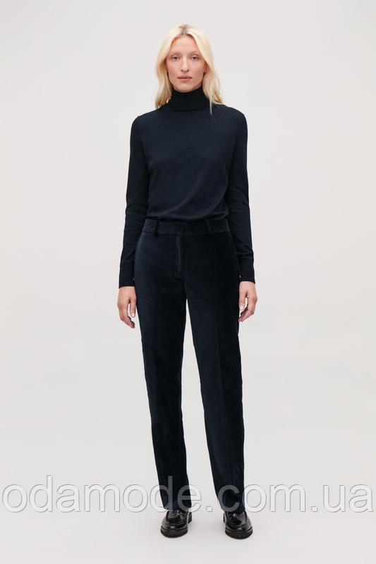 Женские брюки велюровые  cos