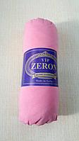 Простынь на резинке розовая хлопковая 160х200 на полуторную кровать/диван, Турция