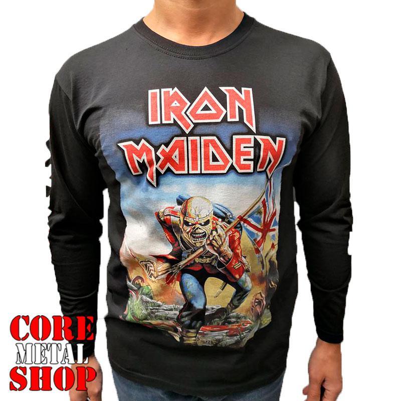 Лонгслив Iron Maiden - The Trooper
