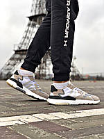 Кроссовки Adidas Nite Jogger Black/White, фото 1