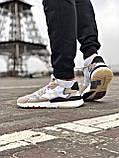 Кросівки Adidas Nite Jogger Black/White, фото 4