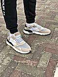 Кросівки Adidas Nite Jogger Black/White, фото 6