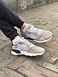 Кросівки Adidas Nite Jogger Black/White, фото 7