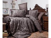 Постельное белье двухспальное-Евро из Сатина  200х220 (ТМ ARAN CLASY) Каvala v1, Турция