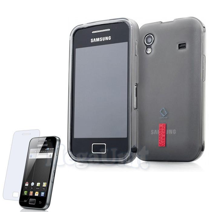 Capdase Силиконовый чехол (+пленка). для Samsung Galaxy Ace (s5830)