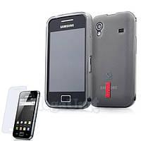 Capdase Силиконовый чехол (+пленка). для Samsung Galaxy Ace (s5830), фото 1