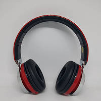 Беспроводные Bluetooth Наушники 39S FM радио Красные