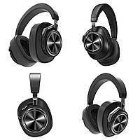 Беспроводные Bluetooth наушники Bluedio T6S с датчиками снятия Черный