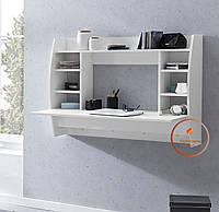 Компьютерный стол, настенный, навесной из ДСП. КОД:S-3