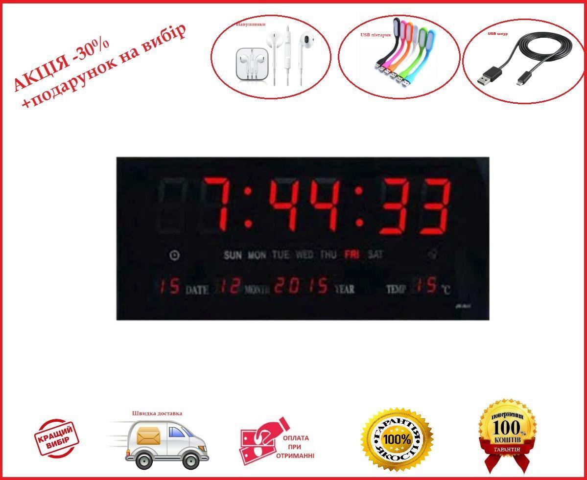 Электронные настенные часы VST-3615