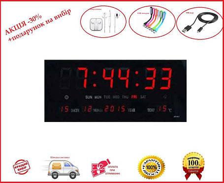 Электронные настенные часы VST-3615, фото 2