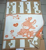 Детское плед одеяло теплое 90*120 (TM Zeron)  Турция