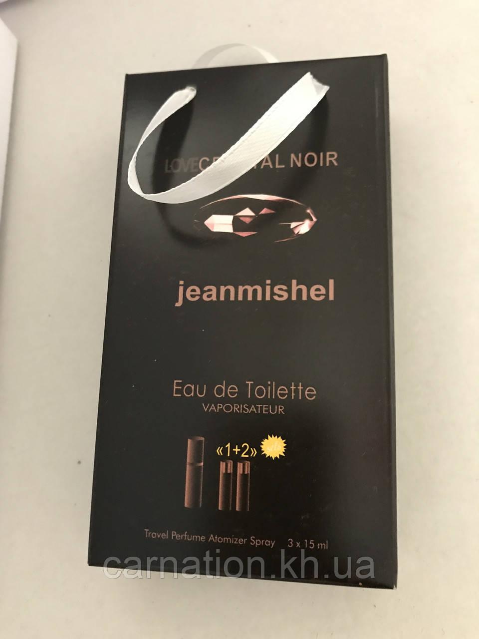 Подарочный набор LoveCrystal Noir Jeanmishel 3*15 мл