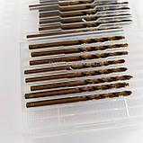 Свердло кобальтовое по металу 1.5 мм Р6М5К5, фото 4