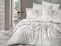 Комплект постельного белья сатин двуспальное-Евро 200х220 (ТМ ARAN CLASY) Adra v2, Турция