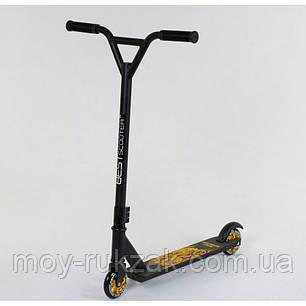 Самокат трюковый Best Scooter 41770, черный., фото 2