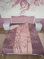 Мягкое покрывало на кровать двуспальное Евро Хлопковое 200х220 (TM Zeron)  Турция