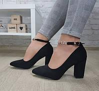 Туфли на устойчивом каблуке, фото 1