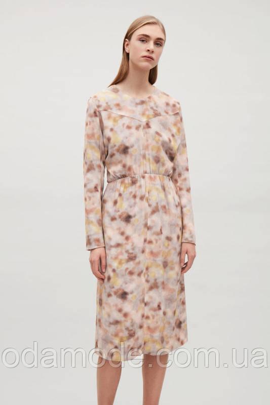 Платье женское с принтом COS