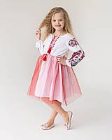 Платье вышиванка для девочки  - Жар птица