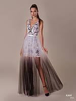Топ! Стильное Выпускное платье трансформер с градиентом, модель KAVI 052