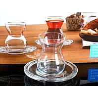 Набор стаканов для чая 140 мл (Армуды) Etnik 12 предметный.