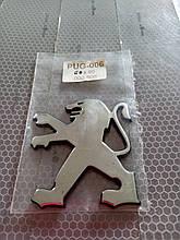 Эмблема PEUGEOT  60х65 мм