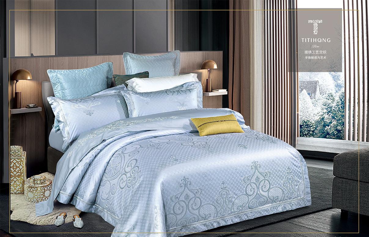 Комплект постельного белья Bella Villa Евро сатин жаккард