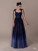 Топ! Блестящее выпускное платье с градиентом, модель KAVI 057