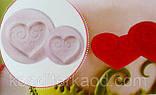 Плунжер Сердце ажурное 4 шт (кнопка), фото 8