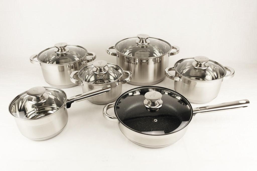 Набір посуду 12 предметів A-PLUS 2181