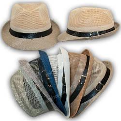 Шляпа федора, р. 54-56 на 8-12 лет