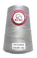Нитка мешкозашивочная 12 S/3 Белая 1000м Kiwi
